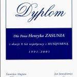 10 lat współpracy z Husqvarna Poland